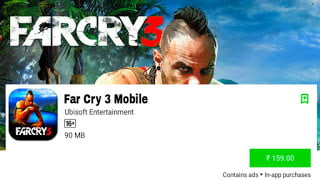 Far cry 3 Android
