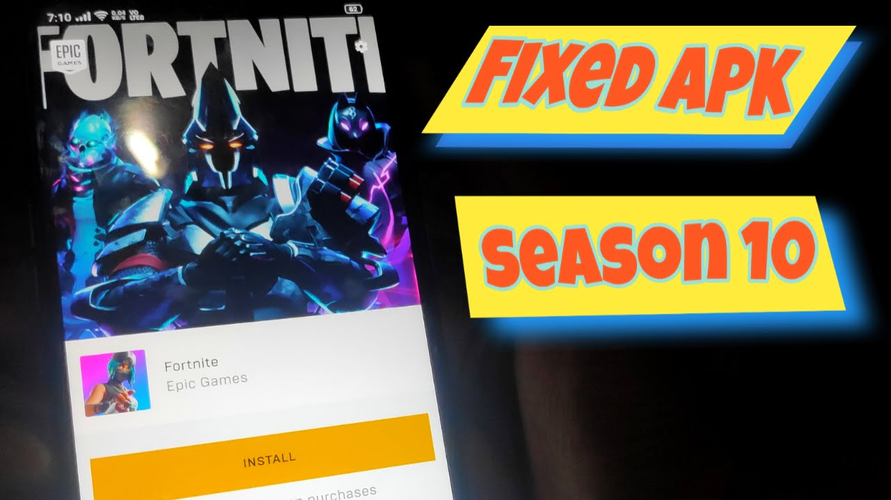Play Fortnite Android on incompatible Devices Season X - Umirtech