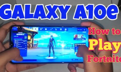 Galaxy a10e fortnite