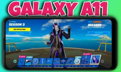 Fortnite on galaxy a11