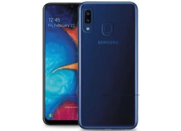 Fortnite on Galaxy A20e